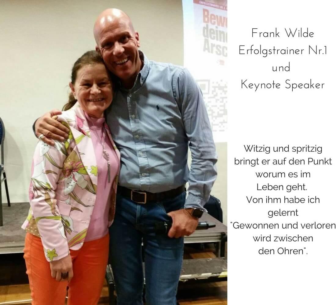 Frank Wilde und ich