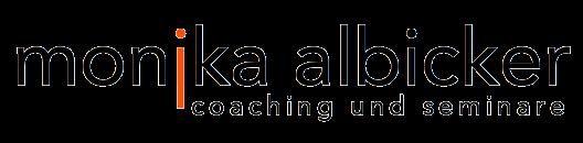 monika albicker Logo MA001