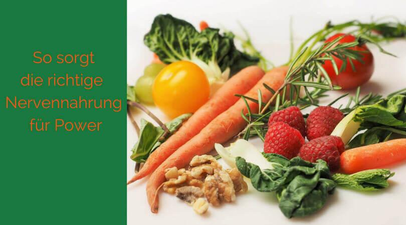 Nervennahrung, Obst und Gemüse